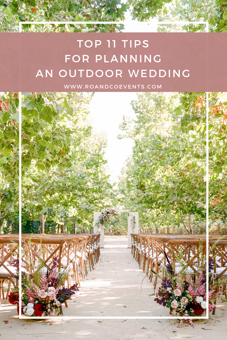 TOP tips for planning outdoor events with RO and Co Events