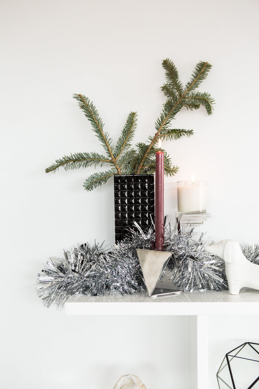 Holiday cocktail party decor inspiration with RMBO Collective