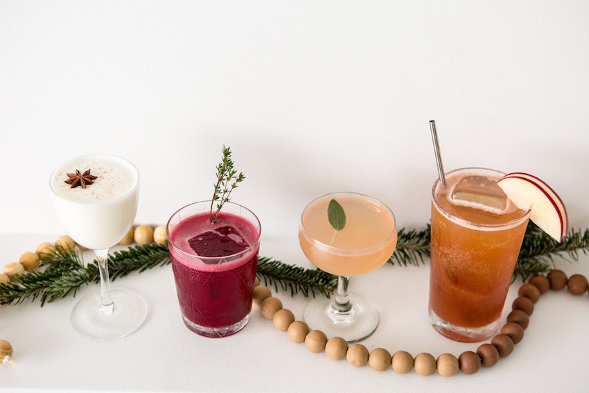 Holiday cocktail party recipes with The Whaling Club