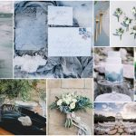 Mood Coastal Romance event design with blue ocean tones inspiration by RO & Co. Events
