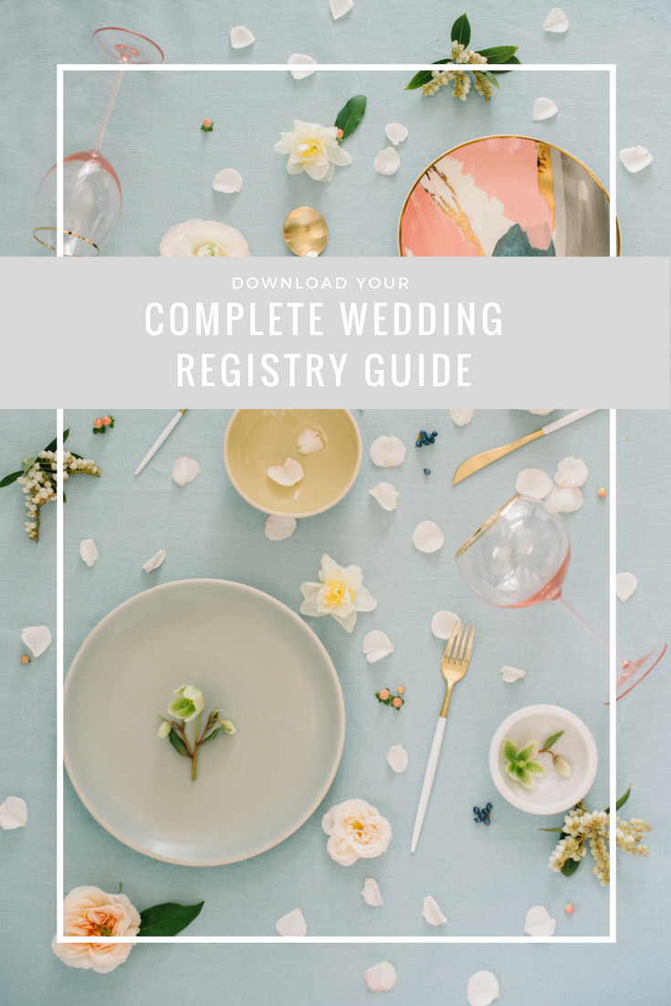 RO & Co. Events Download Free Wedding Registry Guide