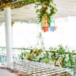 Wedding escort cards floral Moroccan lantern elegant fusion wedding