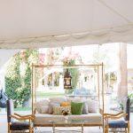 Moroccan style lounge furniture vignette Empire Polo Club RMBO Collective Destination Wedding Planner