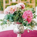 Colorful wedding floral velvet linen elegant fusion wedding