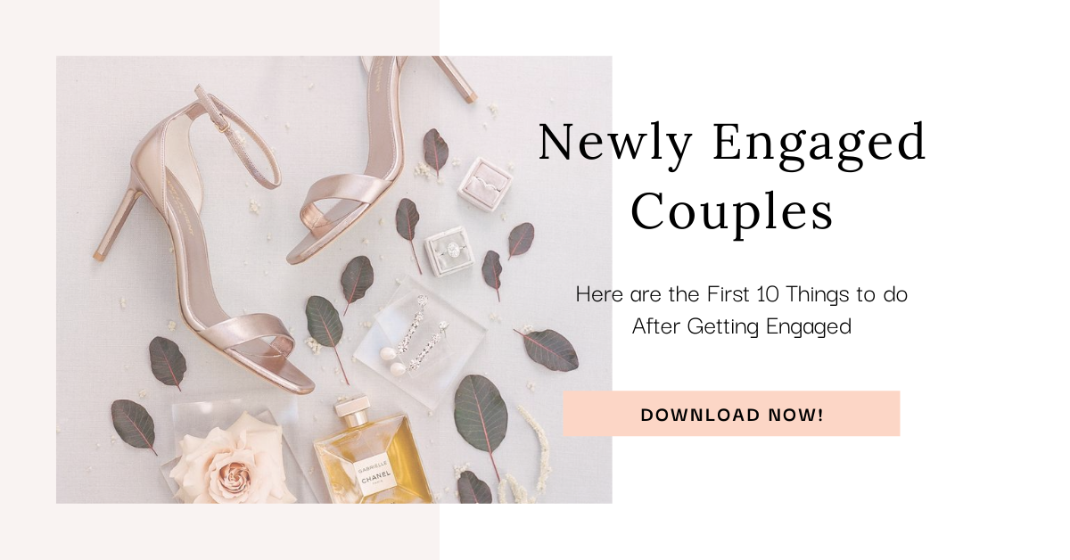 Opt In Bar for a free download on the first 10 things to do after getting engaged